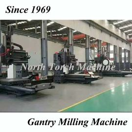 Special CNC Gantry Milling Machine High Accuracy Hydraulic System