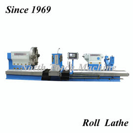Industrial CNC Roll Turning Lathe With PLC Control For Turning Big Roll
